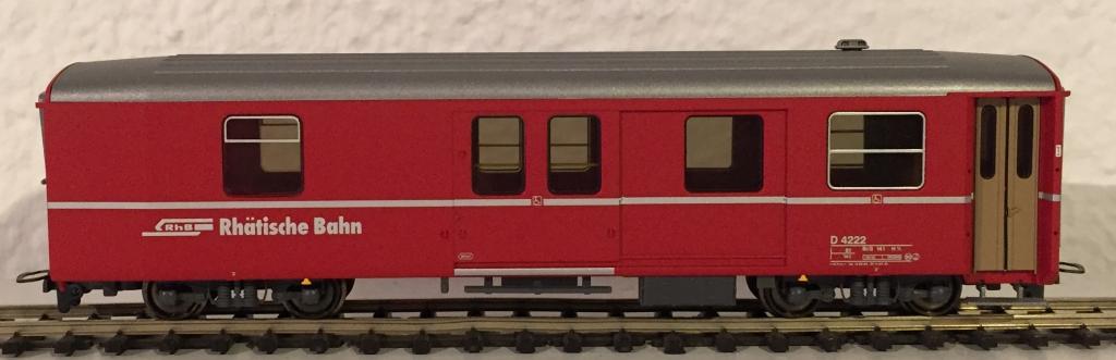 RhB Gepäckwagen D 4222